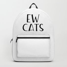 Ew Cats Backpack