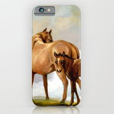Thoroughbred Mare and Foal iPhone 6s Slim Case