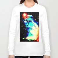 storm trooper Long Sleeve T-shirts featuring STORM TROOPER by shannon's art space