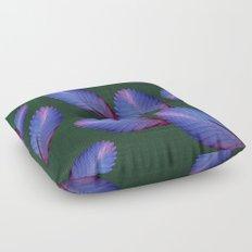 Tillandsia in emerald green Floor Pillow