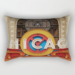 Chicago letters Rectangular Pillow