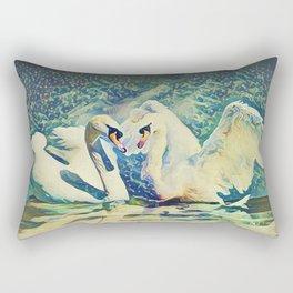 SwanSong Rectangular Pillow