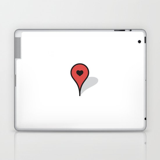 Where The Heart Is Laptop & iPad Skin