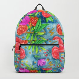 Hallows pattern Backpack