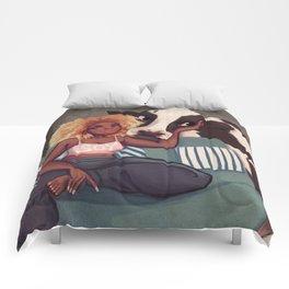 Soy Girl Comforters