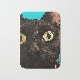 Kismet Kitty Bath Mat