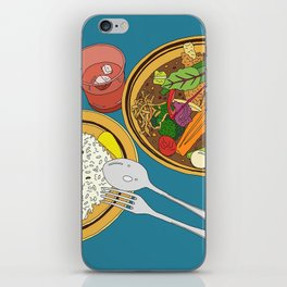 Yummy Soup Curry iPhone Skin