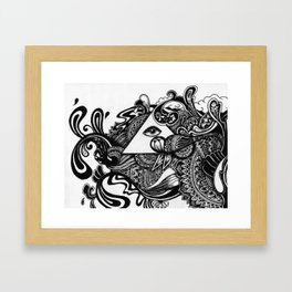 Minds Eye Framed Art Print