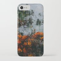 twin peaks iPhone & iPod Cases featuring Twin Peaks  by Olga Krokhicheva