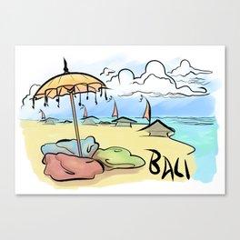 Bali Breeze Canvas Print