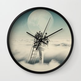 Dive at own risk Wall Clock