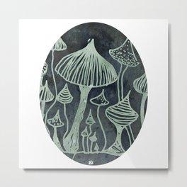 fungus cameo Metal Print