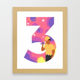 Chance 3 Framed Art Print