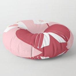Occupy My Heart Floor Pillow