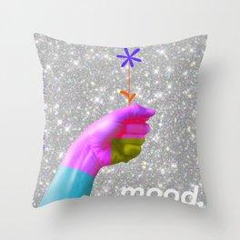 Mood. Posterart Throw Pillow