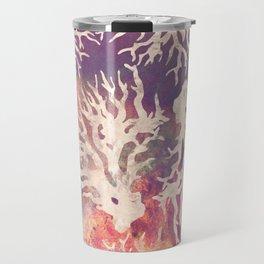 Abstract corals pattern Travel Mug