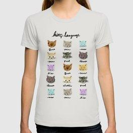 Kitty Language T-shirt