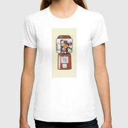 Billiard Gumball Machine T-shirt