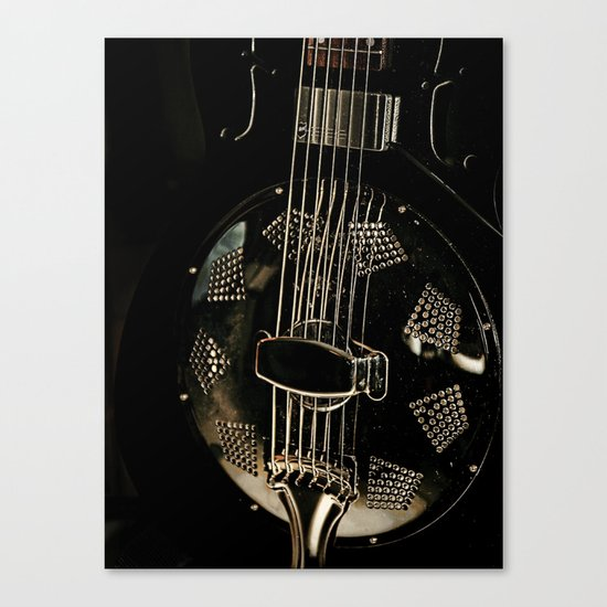 Resonator Canvas Print