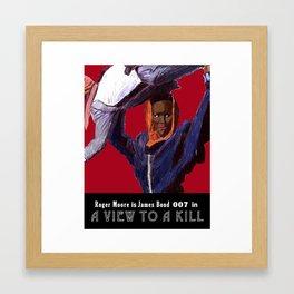 A View to a Kill Framed Art Print