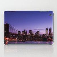 brooklyn bridge iPad Cases featuring Brooklyn Bridge by hannes cmarits (hannes61)