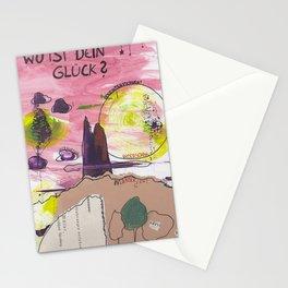 WoistdeinGlück? Stationery Cards