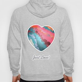 Abstract geometric background with squares Hoody