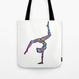 pink yogi Tote Bag