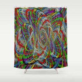 Astray Colors Shower Curtain
