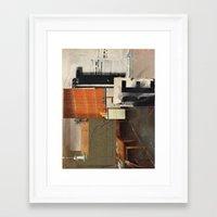 kit king Framed Art Prints featuring KIT by Paul Prinzip