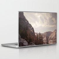 yosemite Laptop & iPad Skins featuring yosemite by illustratographer