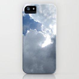 Blue Sky Peeks Through iPhone Case