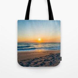 Canaveral National Seashore Sunrise Tote Bag