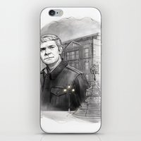 john mayer iPhone & iPod Skins featuring John by RileyStark