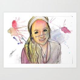 Payton 3 Art Print