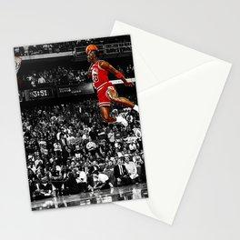 MichaelJordan Poster Stationery Cards