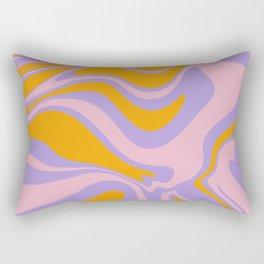 Mod Marble Design Rectangular Pillow