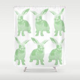 Bunny Shower Curtain