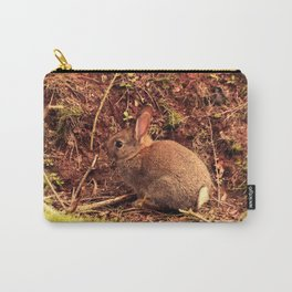 Shy Bunny Carry-All Pouch