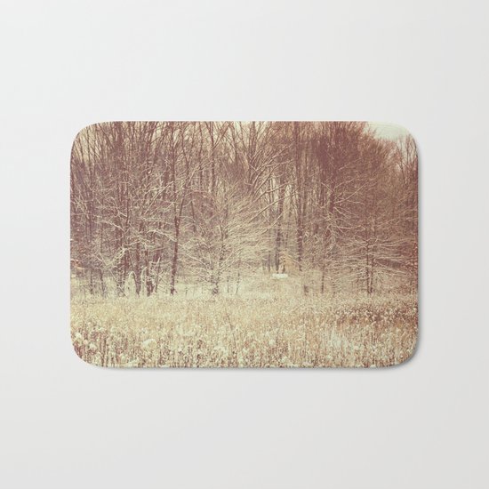 Winter White Bath Mat