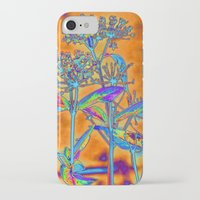 popart iPhone & iPod Cases featuring PopArt Floral by AlexisAnne