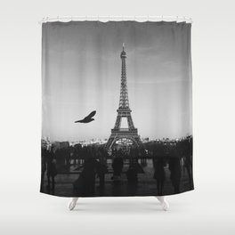 Eiffel Tower (Paris, France) Shower Curtain