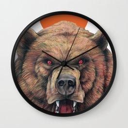 Griz - M Wall Clock