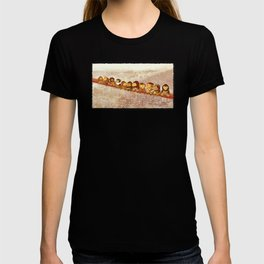 Lunch Atop City T-shirt