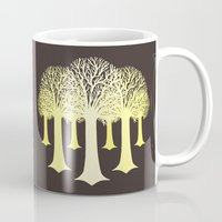 gondor Mugs featuring electricitrees by freshinkstain
