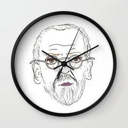 Twiggy Freud Wall Clock