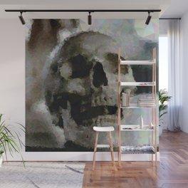 Geometric Skull Wall Mural