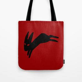 Black Rabbit Tote Bag