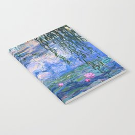 Water Lilies Monet Notebook