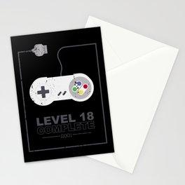 level 18 unlocked complete geburtstag 18. Stationery Cards